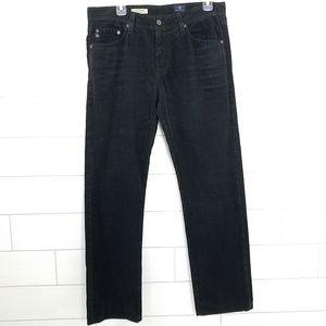 AG The Graduate Mens 32 Corduroy Pants Black Jeans